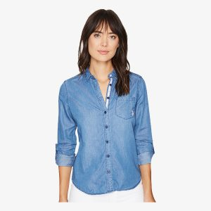 Denim and Twill Shirt